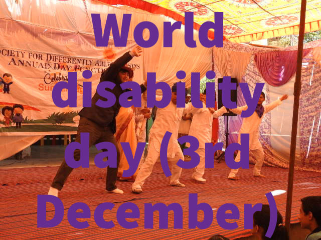 Wish you World disability day